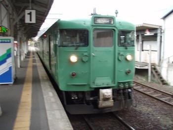 丹鉄の電車の普通列車