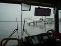 雨の那覇空港