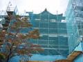 工事中の犬山城