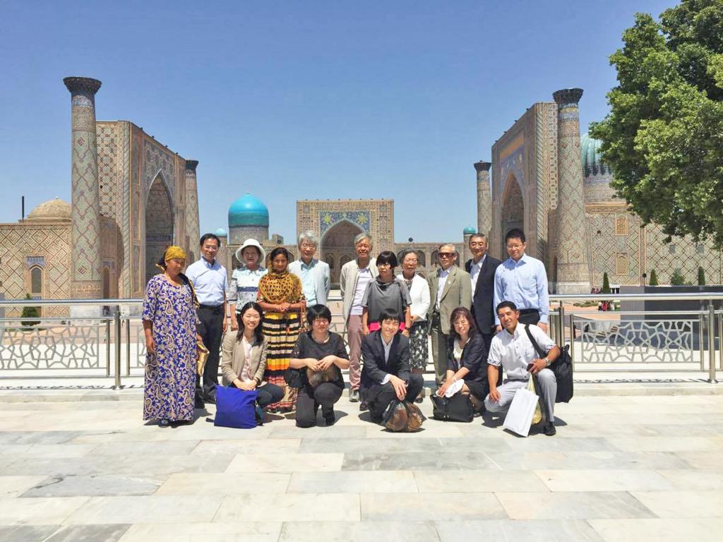 国際交流基金主催「中央アジア文化交流ミッション」サマルカンド訪問