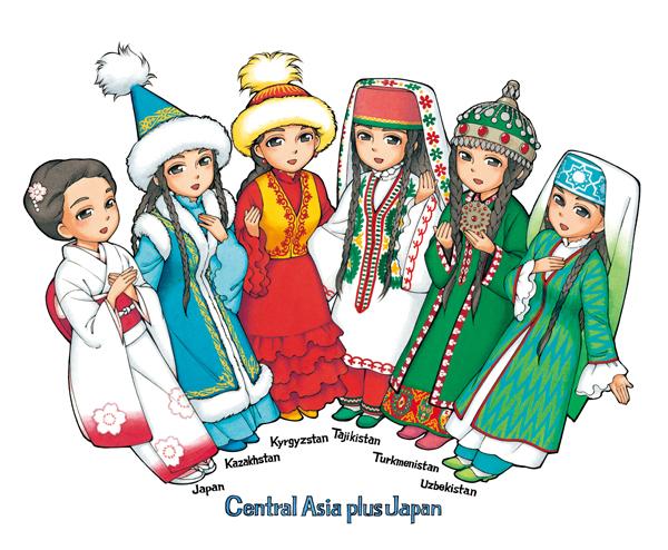 外務省「中央アジア+日本」対話10周年記念イメージキャラクター