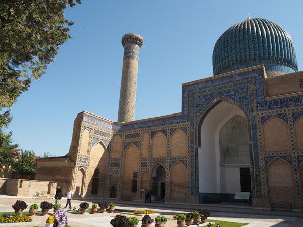 サマルカンド・ウズベキスタンの英雄ティムールとその一族のお墓『グーリ・アミール廟』