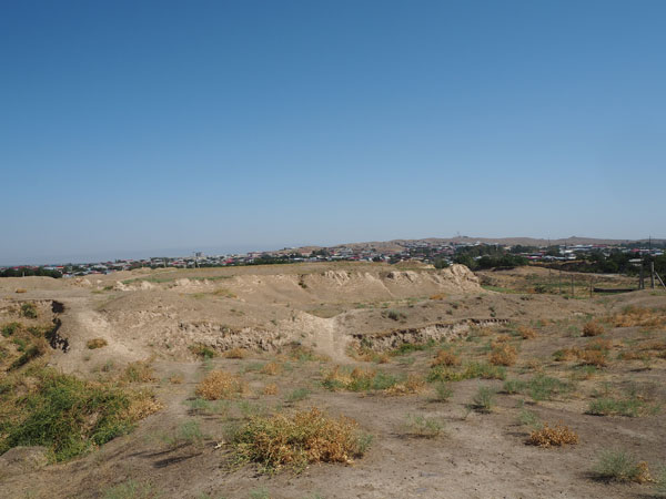 サマルカンド アフラシャブの丘