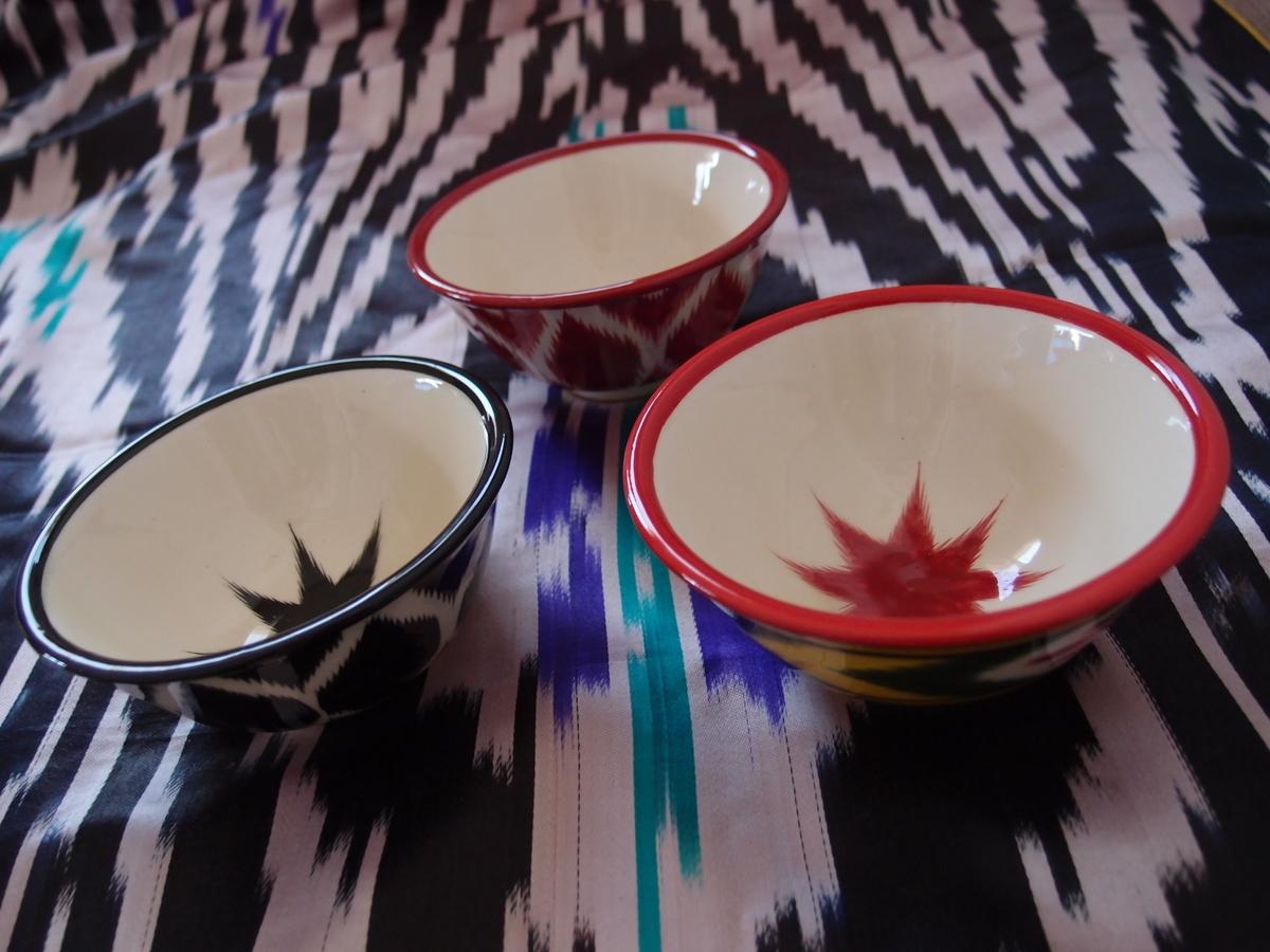 人気が高いウズベキスタンの陶器