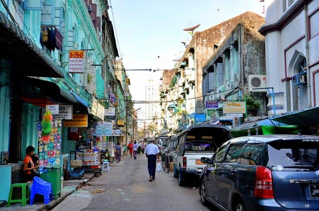 ヤンゴン旧市街
