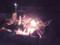 神社での焚き火