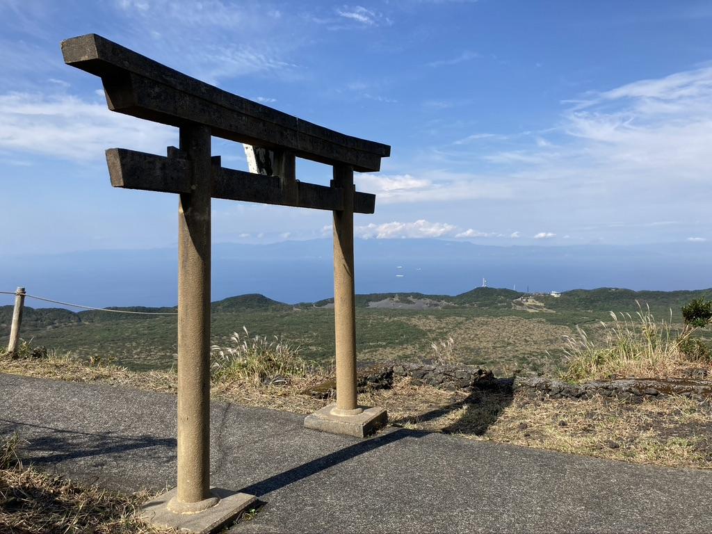 三原神社と伊豆半島