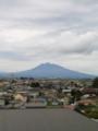 [携帯で風景]岩木山 from inakadate