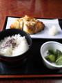 [携帯で風景]銀鱈かまやき定食(゚д゚)ウマー