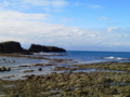 [携帯で風景]深浦からみた日本海