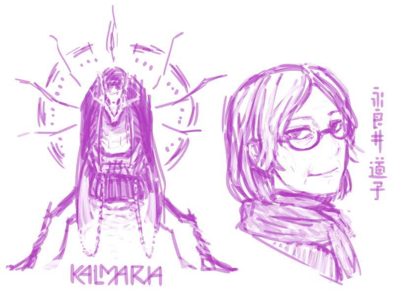 道子とKのイメージ