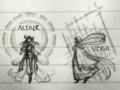 [◆太陽幻燈](星影の廊下・すばるの廊下) ALTAIR VEGA