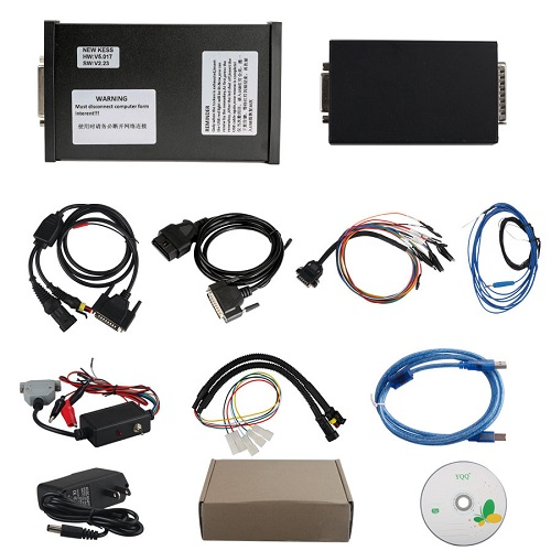How to Read Nissan YD25 ECU Nissan Pathfinder with Kess V2