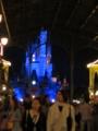 シンデレラ城 ライトアップ