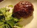 ハンバーグ(チーズ入り)