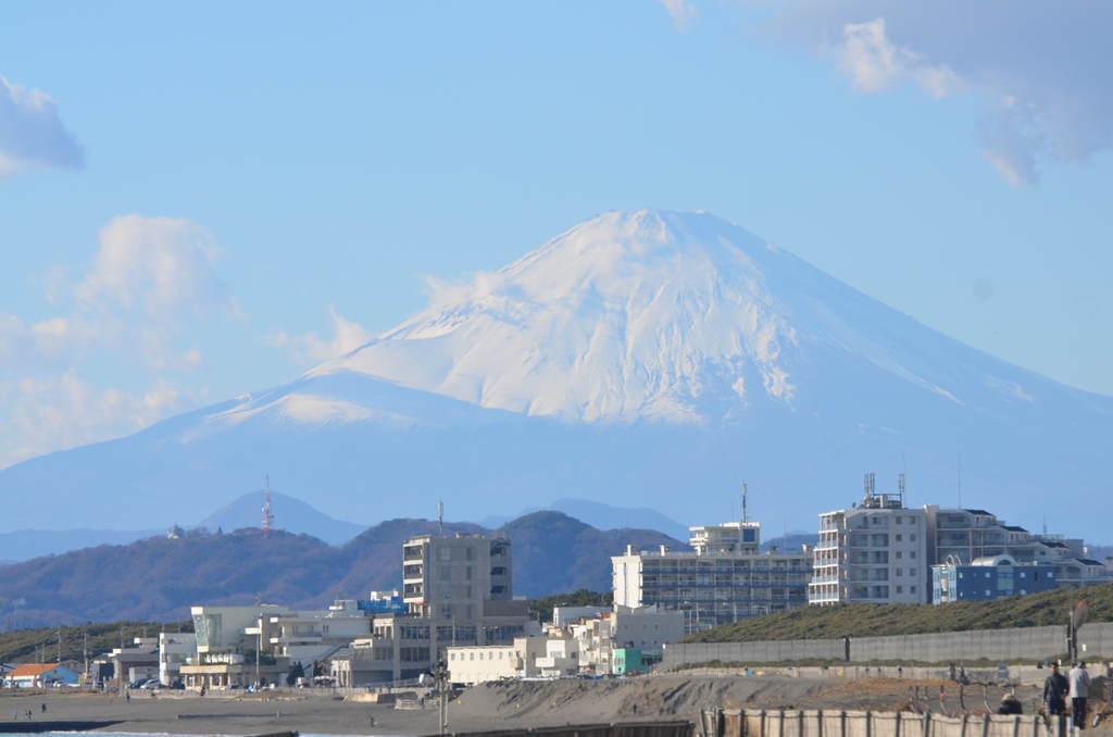 12月30日13:30頃の富士山