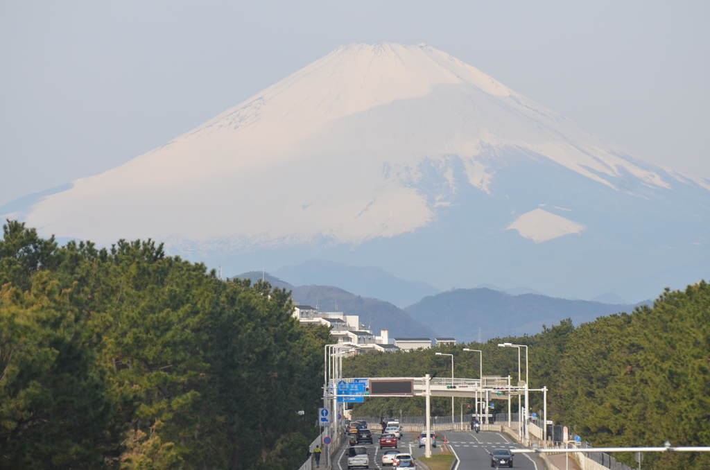 2019年3月10日の富士山