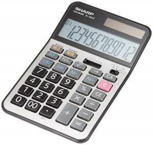 SHARPナイスサイズ電卓EL-N294X