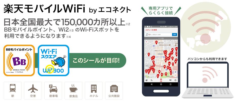 楽天モバイルWiFi by エネコネクト