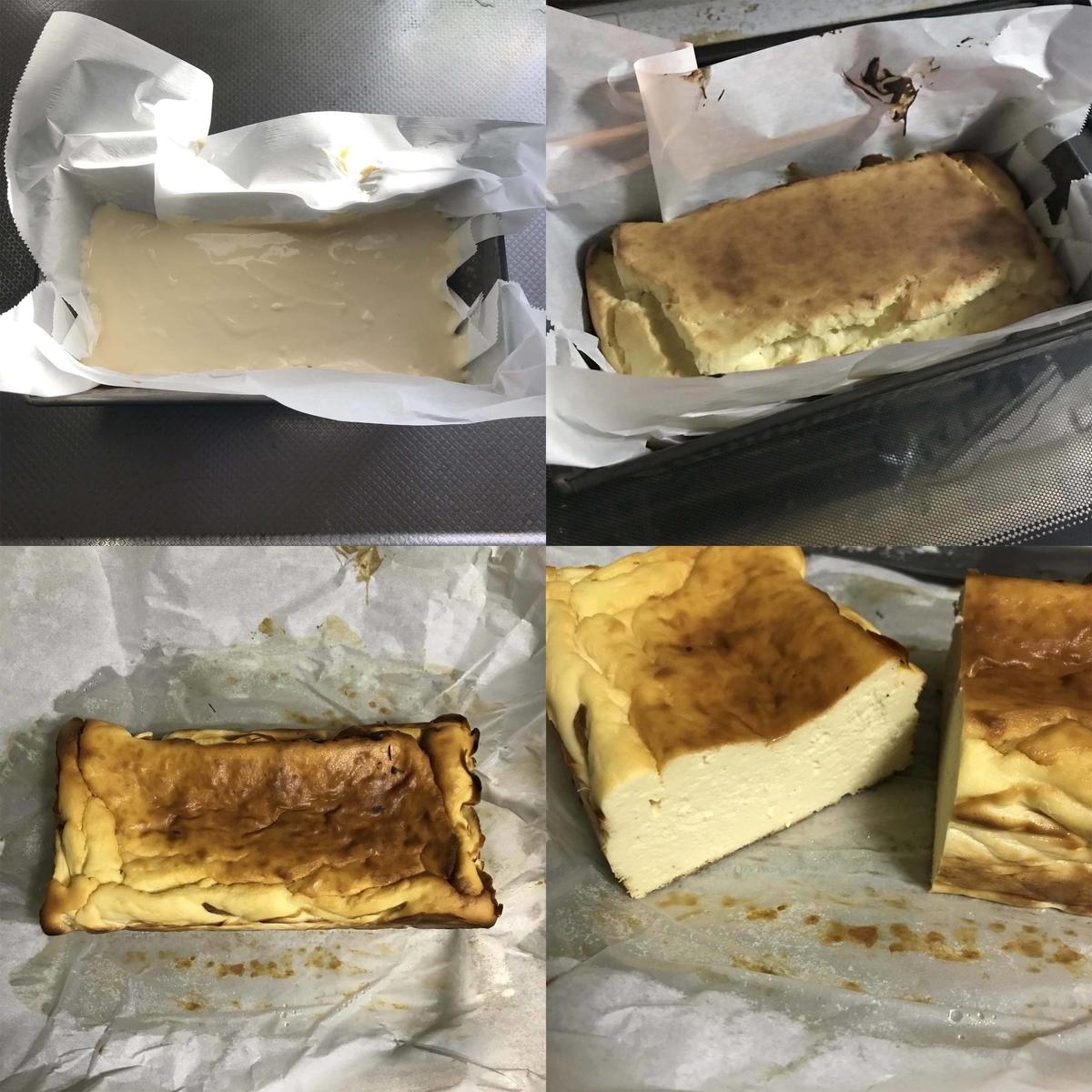 ダイエットお菓子おからチーズケーキの作り方ー焼き