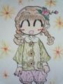 ボア衿ジャガードジャケット♪(Color Version)