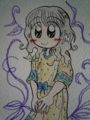 パネルプリントワンピース♪(Color Version)