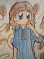 ピンタックワンピース♪(Color Version)アップ2