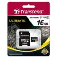 Transcend microSDHCカード 16GB Class10