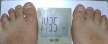 体重143.5kg
