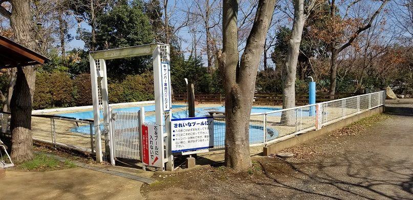 有野実苑オートキャンプ場 プール