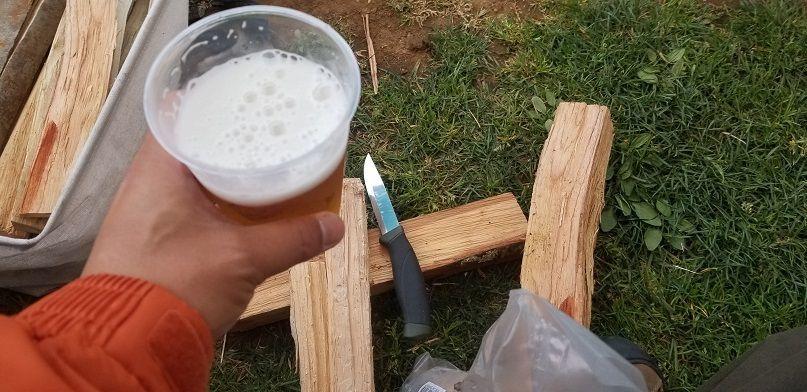 薪割り モーラナイフ