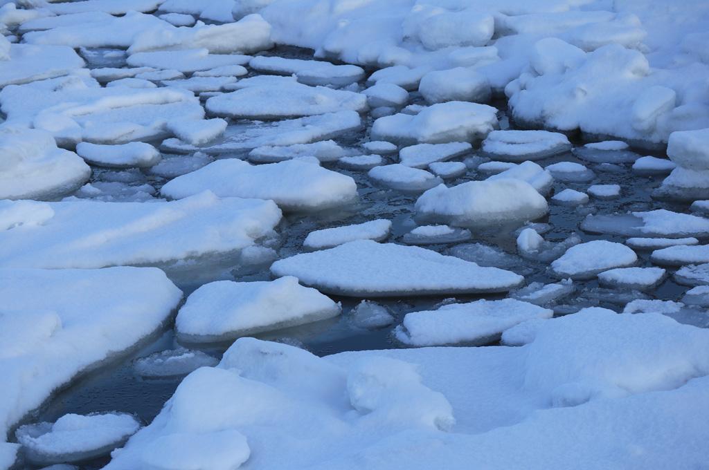 流氷の風景9