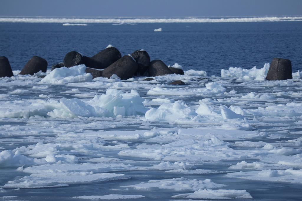 流氷の風景1