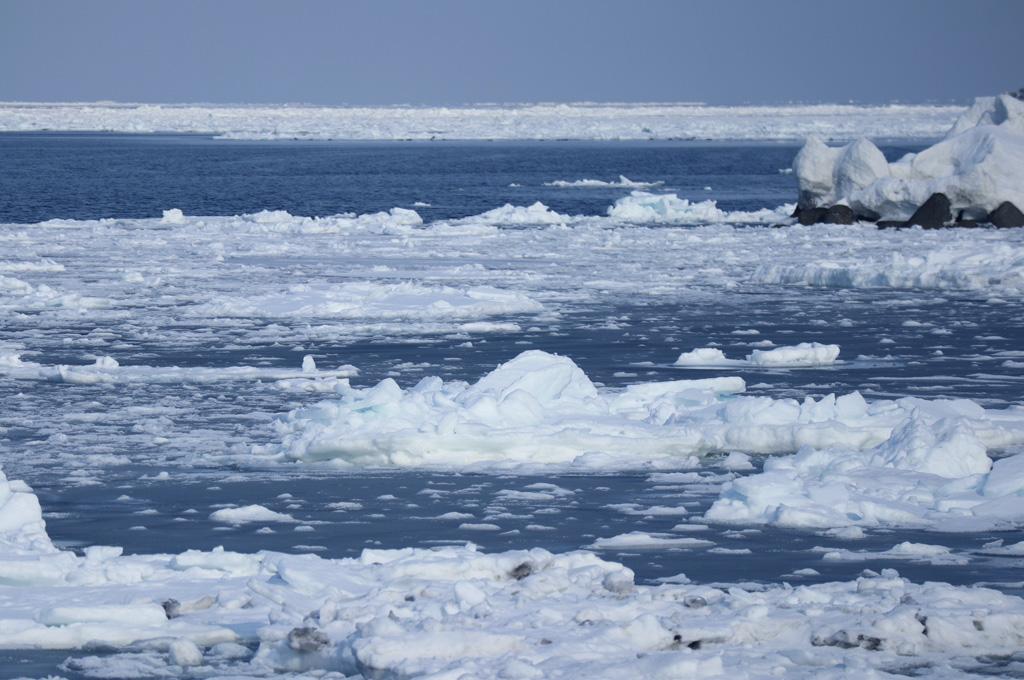 流氷の風景2