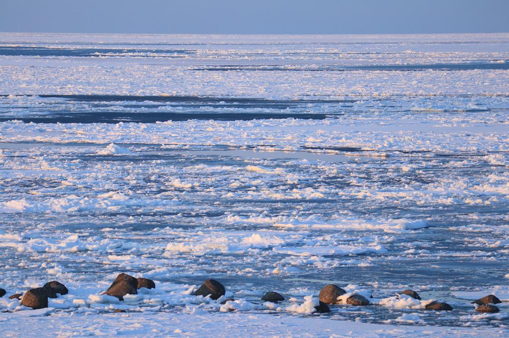 流氷の風景4