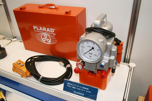 油圧ポンプPE100CF-2Cool(油圧レンチ専用)