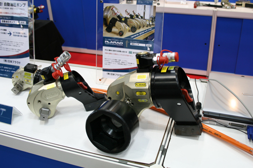 油圧トルクレンチ(油圧レンチ):日本プララド