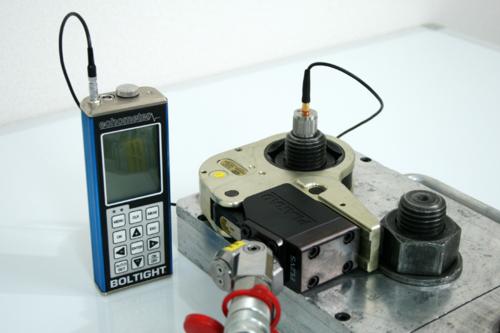 超音波軸力測定 Echometer エコーメーター:日本プララド