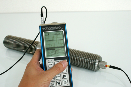 超音波ボルト軸力計 Echometer