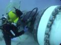 [油圧トルクレンチ][油圧レンチ][水中ボルト][水中ボルト工具][日本プララド][海中ボルト][海底ボルト締め][トルク管理工具][トルクレンチ9000Nm]海中ボルト締め・PLARAD油圧トルクレンチPL950SC