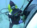 [油圧トルクレンチ][油圧レンチ][水中ボルト締め][海中ボルト締め][水中ボルト工具][日本プララド][トルク管理工具][締付けトルク6500Nm]水中ボルト締め・PLARAD油圧トルクレンチで締付けトルク6500Nm