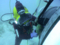 水中ボルト締め・PLARAD油圧トルクレンチで締付けトルク6500Nm