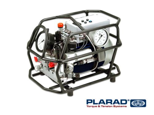 世界初 PLARAD デュアルIQ自動油圧ポンプ