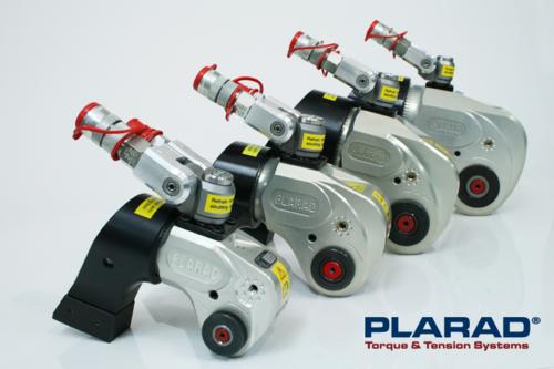大型ボルト締めトルク管理工具:日本プララド 油圧トルクレンチSC型