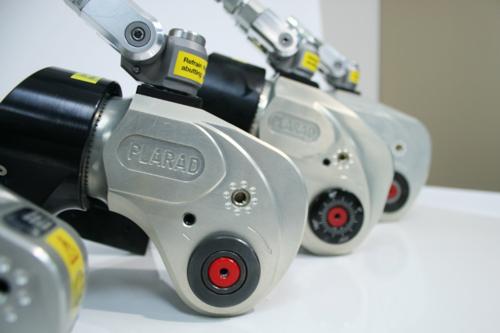油圧トルクレンチPL450SC 最大トルク4500Nm