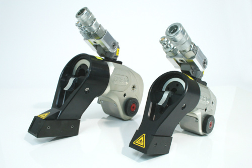 油圧トルクレンチPL450SC:最大トルク4500Nm:大型ボルト締め工具
