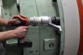 [コードレス電動トルク][コードレス電動レンチ][電動トルクレンチ][大型トルクレンチ][トルク管理工具][バッテリー型][締付けトルク2500Nm]PLARADコードレス電動トルクレンチで締付けトルク2500Nm