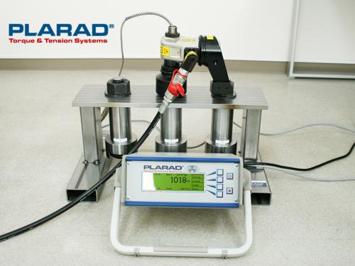 油圧トルクレンチとトルクメーターGMV2