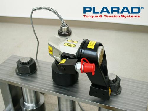 油圧トルクレンチのトルクセンサー内蔵型 締付けトルク1400Nm