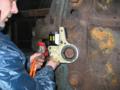 [油圧トルクレンチ][油圧レンチ][トルク管理工具][日本プララド][大型ボルト締め][フランジボルト]プララド油圧トルクレンチで錆び付いたボルト緩め